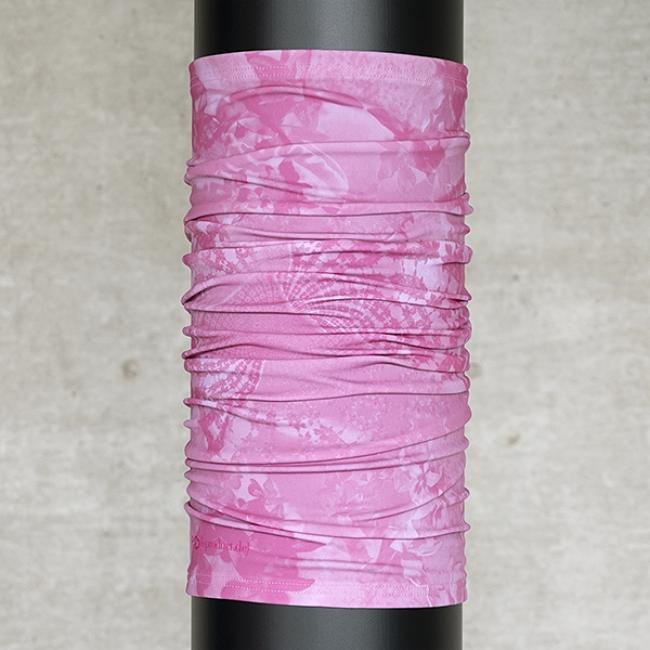 Multifunktionsschal Batik FLORAL Rosa