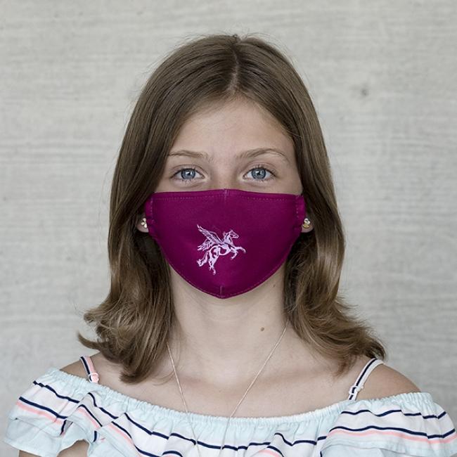 "Gesichtsmaske Kinder ""Einhorn I"""