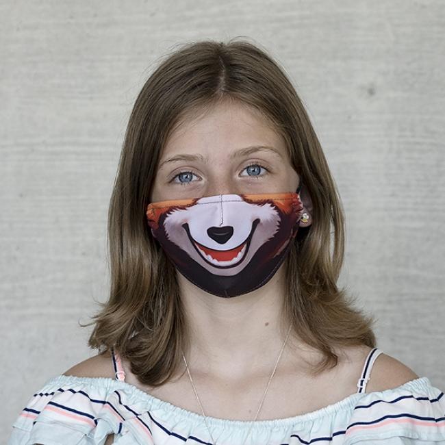 "Kindermaske TIVOLA ""Roter Panda 1"""