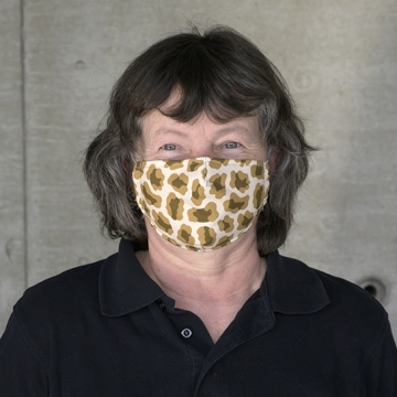 Maske CAMOUFLAGE khaki - sand