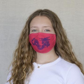 Gesichtsmaske DRAGON RED