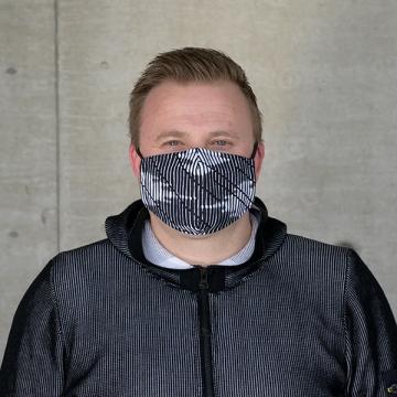 Maske BLACK CLOUD