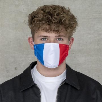 """Gesichtsmaske """"France"""""""