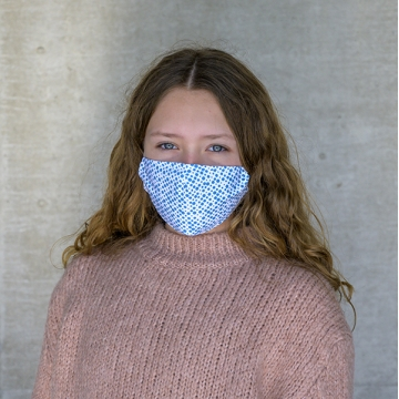 Maske BLUE DOTS