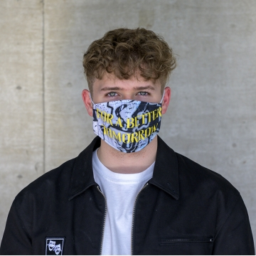 Maske Tomorrow GRAFITTI