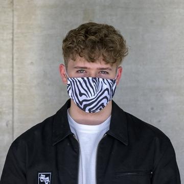 Maske Zebra
