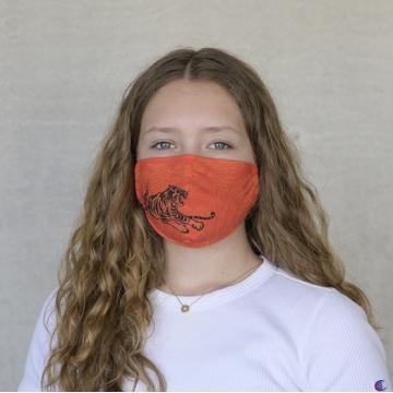 Gesichtsmaske TIGER Orange