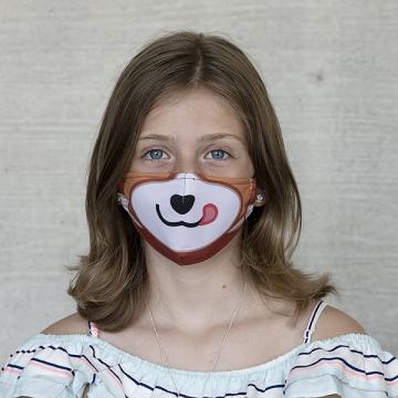 "Kindermaske TIVOLA ""Roter Panda 2"""