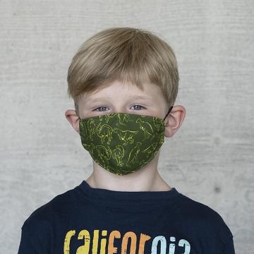 """Gesichtsmaske Kinder """"Alle DINOS"""""""
