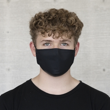 Maske UNI  BLACK ANTIVIRAL